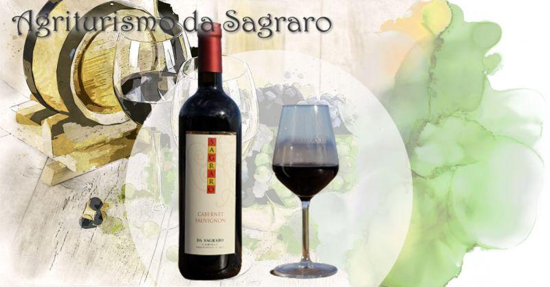 AGRITURISMO DA SAGRARO - Offerta vendita online miglior VINO CABERNET SAUVIGNON dei Colli Berici