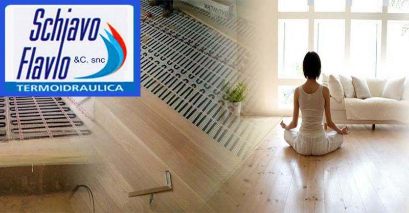 Offerta impianti di riscaldamento per abitazioni - occasione riscaldamento a pavimento vicenza