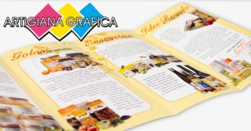 ARTIGIANA GRAFICA - Offerta produzione personalizzata raccoglitori espositori da banco packaging