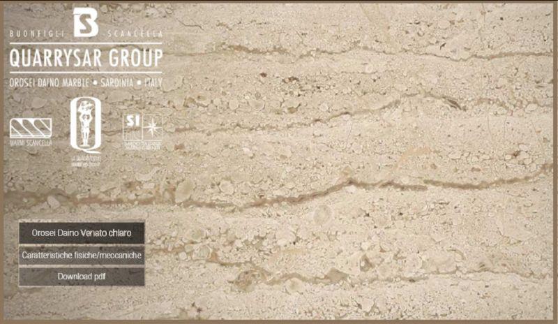 Offerta estrazione vendita marmo Dyno reale - Promozione lavorazione marmo Daino reale
