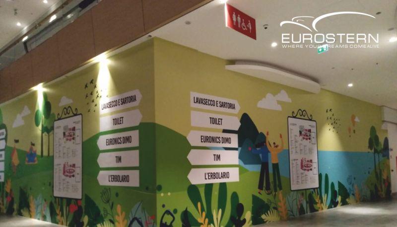 EUROSTERN offerta decorazioni murali installazione rapida - promozione decorazione muro