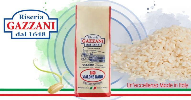 Occasione Vendita online Riso Varietà VIALONE NANO Qualità superiore produttori italiani